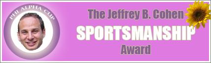 The Jeffrey B.Cohen SPORTMANSHIP Award